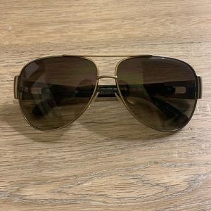 Marc Marc Jacobs Aviator Sunglasses 107/s